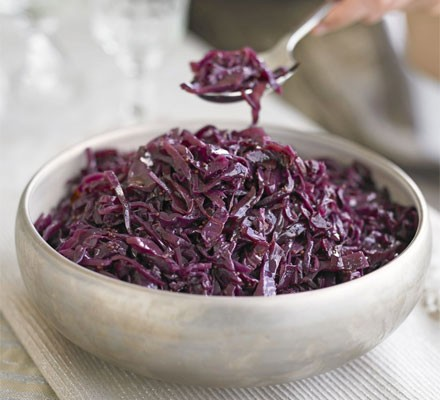 Sticky Spiced Red Cabbage Recipe Bbc Good Food