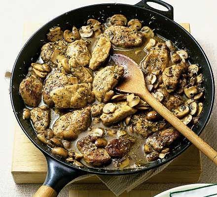20-minute pork pan-fry