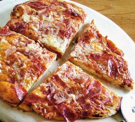 Pick 'n' mix pizza