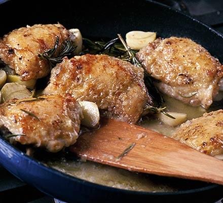 Rosemary & garlic chicken