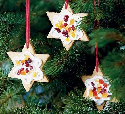 Lemon star biscuits