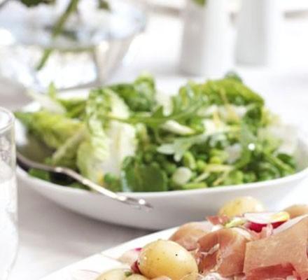 English summer salad