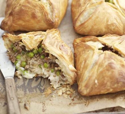 Shepherd's pie pasties