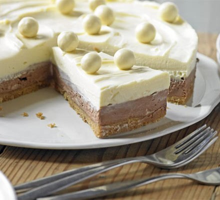 Malt Chocolate Cheesecake Recipe Bbc Good Food
