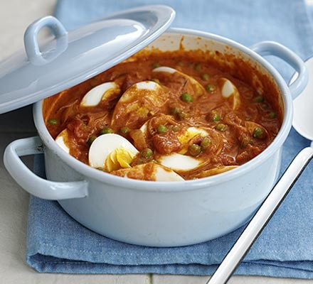 Creamy egg curry