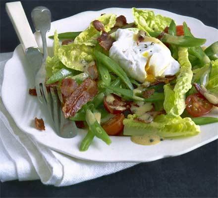 Bistro runner bean salad