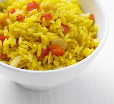 Yellow pepper rice