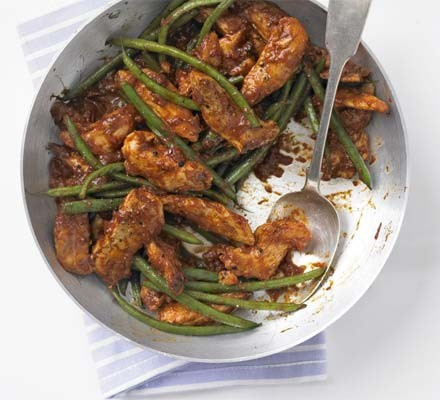 Moroccan chicken with lemon couscous
