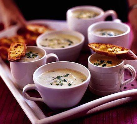 Mum's leek & potato soup with mustard toasts_image