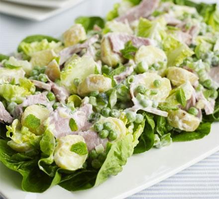 Big ham salad