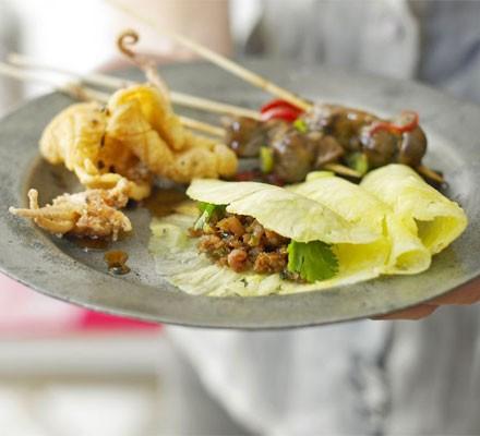 Sticky Thai pork