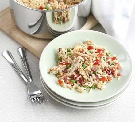 Whip-round-the-fridge rice