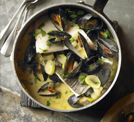 Normandy fish stew