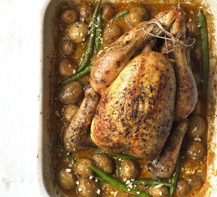 Massaman curry roast chicken image