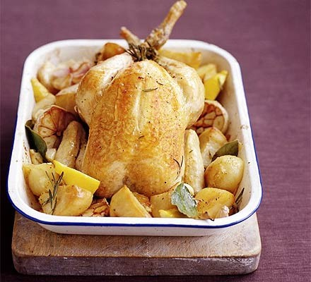 Foolproof slow roast chicken