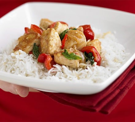 Chicken Stir Fry In 4 Easy Steps Recipe Bbc Good Food