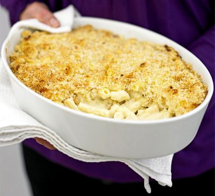 Macaroni cheese in 4 easy steps_image