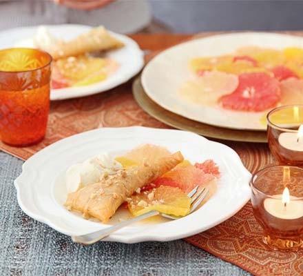 Honeyed orange & grapefruit