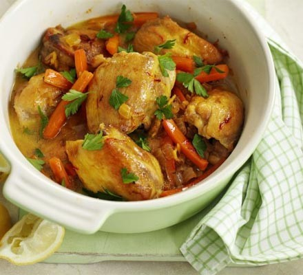 Easy chicken tagine