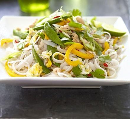 Vegetable phat Thai