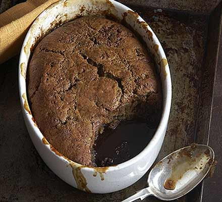 Sticky date & ginger pudding