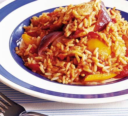Italian Rice With Chicken Recipe Bbc Good Food
