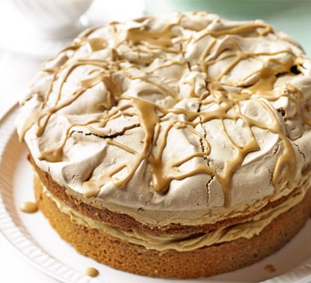 Louise Read's Coffee crunch cake