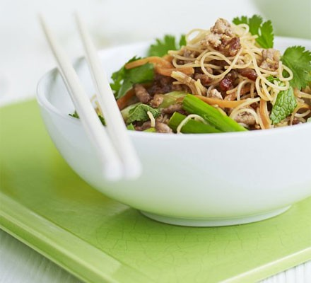 Pork & noodle stir-fry