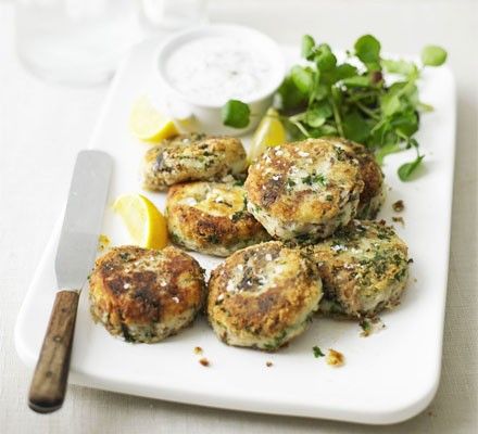 Feelgood fish cakes