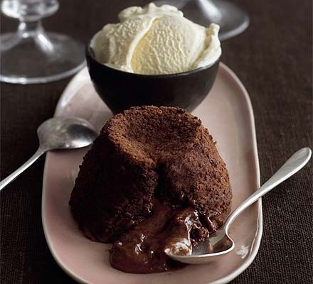 Chocolate pecan fondants