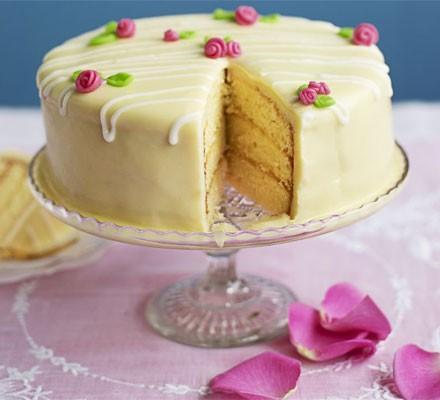 Lemon Fondant Cake Recipe Bbc Good Food