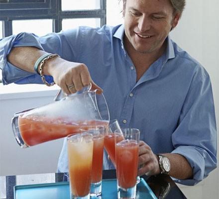 Orange & cranberry spritz