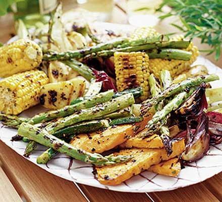 Mediterranean marinated vegetables