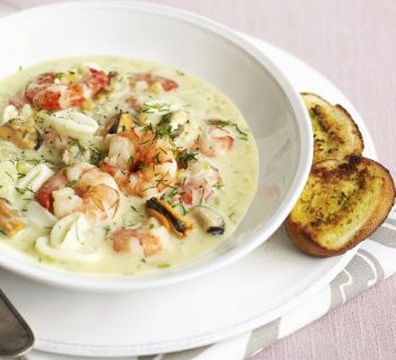 Creamy seafood stew_image