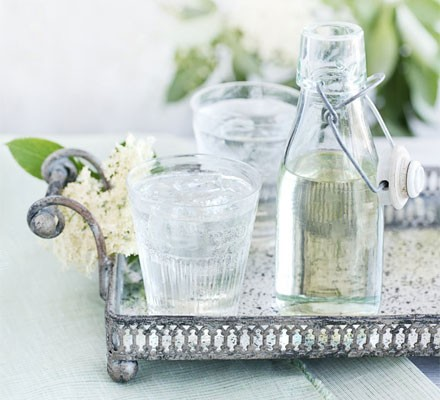 Elderflower & lemon cordial
