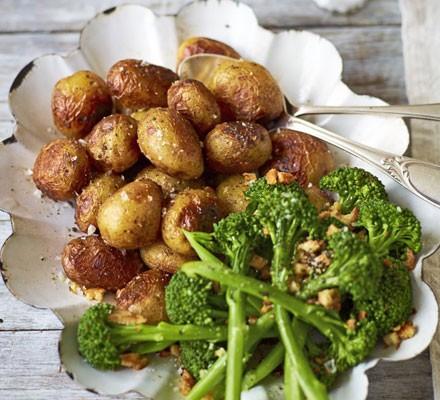 Stoved potatoes