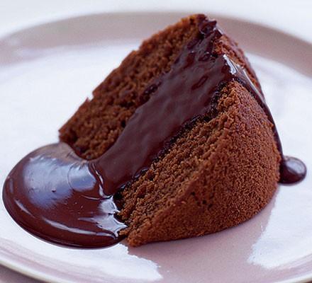 Heavenly chocolate pudding recipe - BBC Good Food
