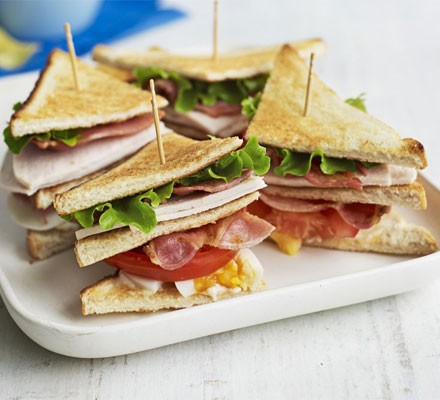 Club Sandwich Recipe Bbc Good Food