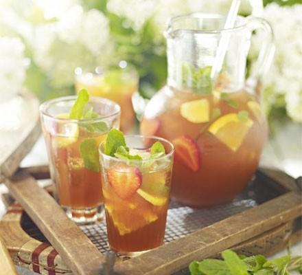 Pimm's iced tea