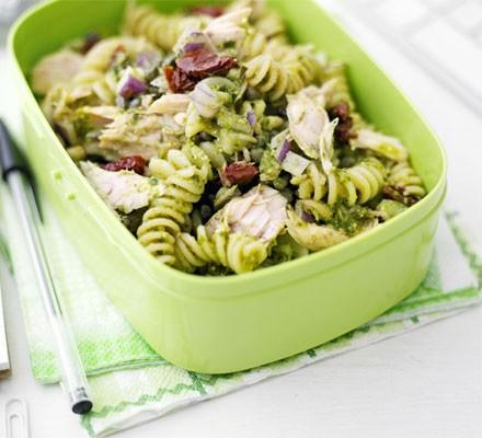 Storecupboard pasta salad