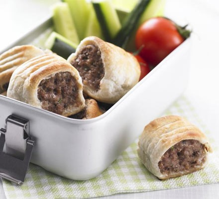 The ultimate makeover: Sausage rolls