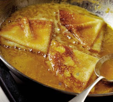 Ultimate Crepes Suzette Recipe Bbc Good Food
