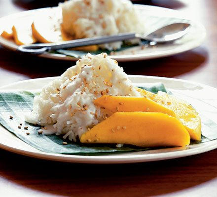 Sticky Rice Mango Recipe Bbc Good Food