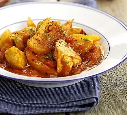 Chicken, fennel & tomato ragout