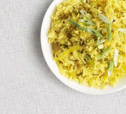 Pistachio pilau rice