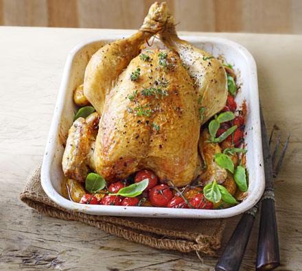 Garden herb chicken