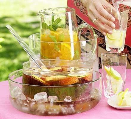Citrus iced tea