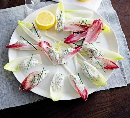 Smoked mackerel & horseradish cups
