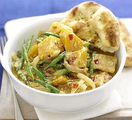 Warming veggie curry