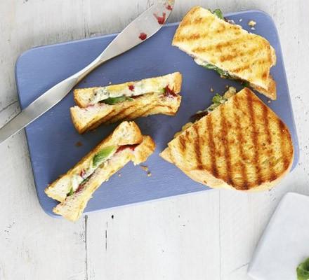Stilton & cranberry toastie